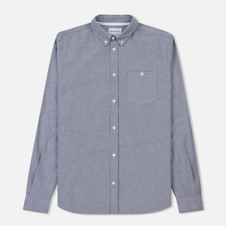 Мужская рубашка Norse Projects Anton Oxford Magnet Grey