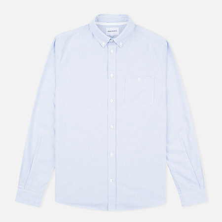 Мужская рубашка Norse Projects Anton Oxford Navy Stripes