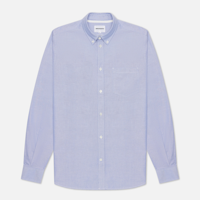 Мужская рубашка Norse Projects Anton Oxford Pale Blue