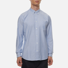 Мужская рубашка Norse Projects Anton Oxford Pale Blue фото- 2