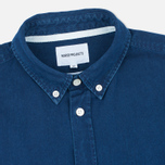Norse Projects Anton Denim Light Men's Shirt Indigo photo- 1