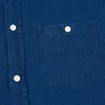 Norse Projects Anton Denim Light Men's Shirt Indigo photo- 3