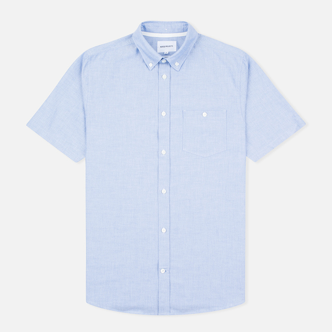 Мужская рубашка Norse Projects Anton Oxford SS Navy