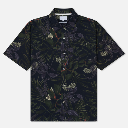 Мужская рубашка Norse Projects Carsten Print Dark Navy