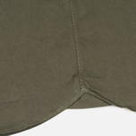 Norse Projects Hans Half Placket Twill Men's Shirt Dried Olive photo- 4