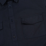 Мужская рубашка Norse Projects Hans Half Placket Twill Navy фото- 2
