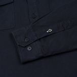 Мужская рубашка Norse Projects Hans Half Placket Twill Navy фото- 3
