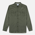 Мужская рубашка Norse Projects Hans Light Ripstop Dried Olive фото- 0