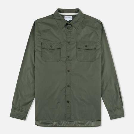 Norse Projects Hans Light Ripstop Dried Olive Dried Olive