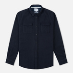 Мужская рубашка Norse Projects Jens Melton Navy фото- 0