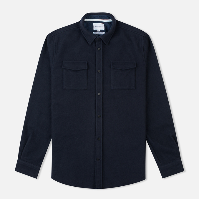 Мужская рубашка Norse Projects Jens Melton Navy