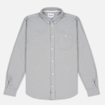 Мужская рубашка Norse Projects Osvald Brushed Light Grey Melange фото- 0