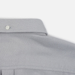 Мужская рубашка Norse Projects Osvald Brushed Light Grey Melange фото- 5
