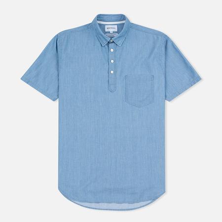 Norse Projects Osvald SS Men's Shirt Light Indigo
