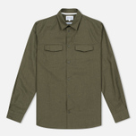 Мужская рубашка Norse Projects Villads Dry Texture Capital Green фото- 0