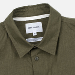 Мужская рубашка Norse Projects Villads Dry Texture Capital Green фото- 1