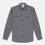 Мужская рубашка Norse Projects Villads Dry Texture Grey Melange фото- 0