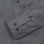 Мужская рубашка Norse Projects Villads Dry Texture Grey Melange фото- 2