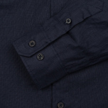 Мужская рубашка Norse Projects Villads Dry Texture Navy фото- 2
