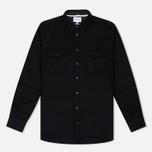 Мужская рубашка Norse Projects Villads Melton Black фото- 0