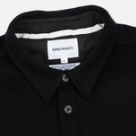 Мужская рубашка Norse Projects Villads Melton Black фото- 1