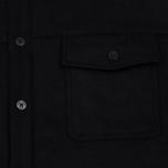 Мужская рубашка Norse Projects Villads Melton Black фото- 2
