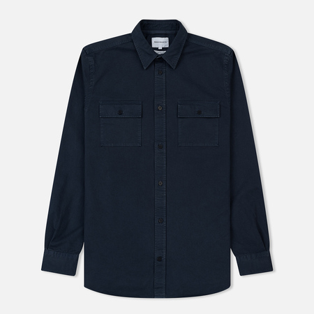 Мужская рубашка Norse Projects Villads Twill Navy