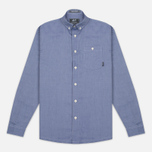 Мужская рубашка Peaceful Hooligan Yates Blue фото- 0