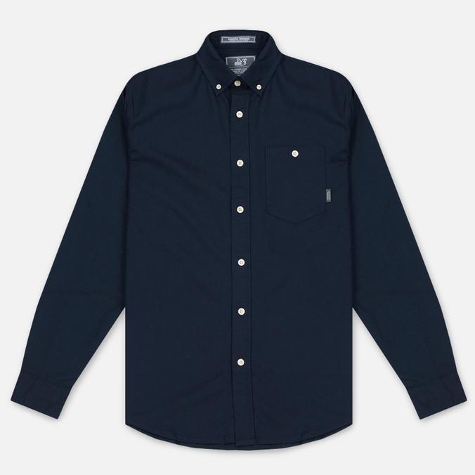 Мужская рубашка Peaceful Hooligan Yates Navy