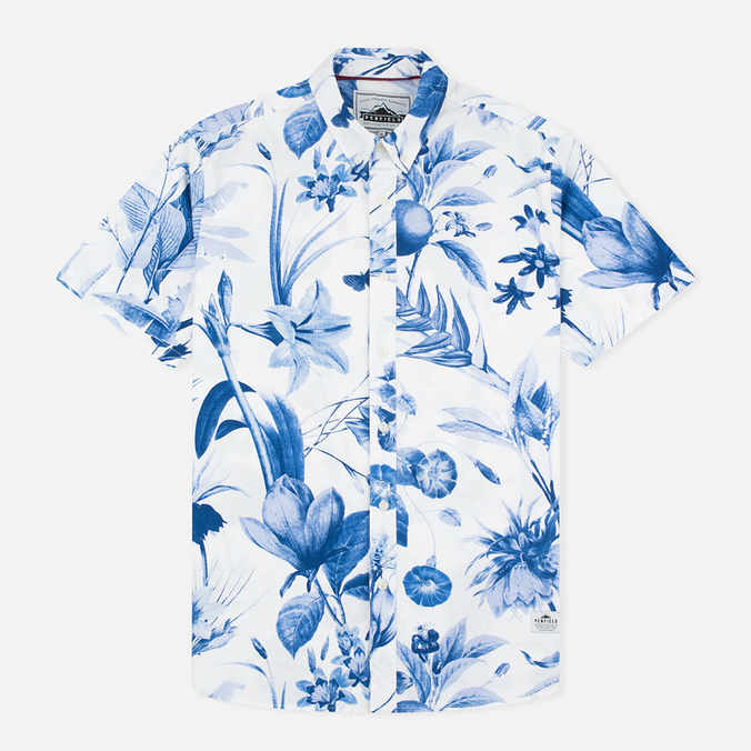Мужская рубашка Penfield Colima Botanical Blue