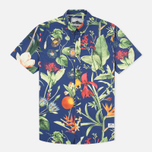 Мужская рубашка Penfield Colima Botanical Navy фото- 0