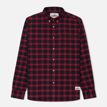 Мужская рубашка Penfield Corey Brushed Cotton Checked Red