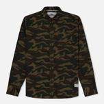 Мужская рубашка Penfield Gridley Camo Olive фото- 0