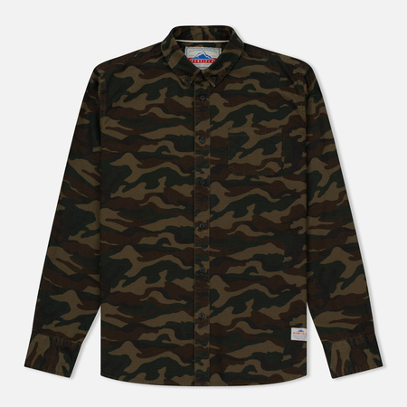 Мужская рубашка Penfield Gridley Camo Olive