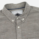 Penfield Hadley Chambray Men's Shirt Olive photo- 1
