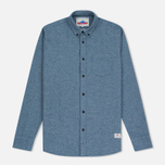 Мужская рубашка Penfield Ridgley Brushed Flannel Blue фото- 0