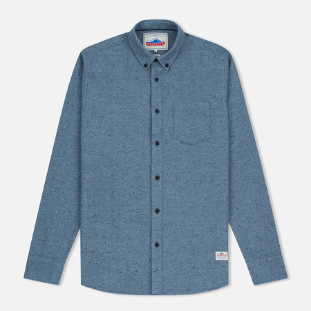 Penfield Ridgley Brushed Flannel Men's Shirt Blue