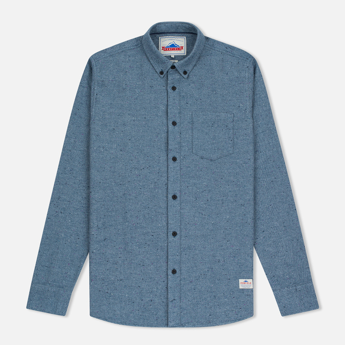Мужская рубашка Penfield Ridgley Brushed Flannel Blue