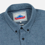 Penfield Ridgley Brushed Flannel Men's Shirt Blue photo- 1