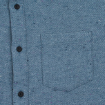 Penfield Ridgley Brushed Flannel Men's Shirt Blue photo- 2