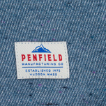Penfield Ridgley Brushed Flannel Men's Shirt Blue photo- 6