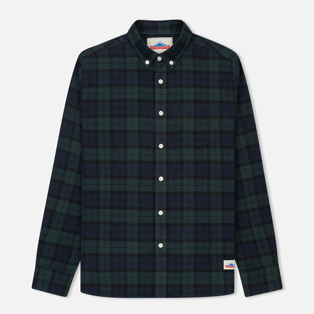 Мужская рубашка Penfield Young Blackwatch Tartan Checked Blue