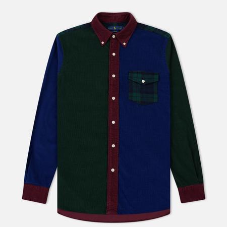 Мужская рубашка Polo Ralph Lauren 21 Wale Corduroy Patchwork Multicolor