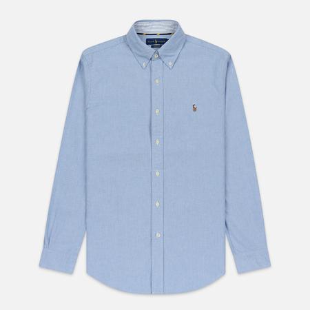 Мужская рубашка Polo Ralph Lauren Button Down Oxford Blue