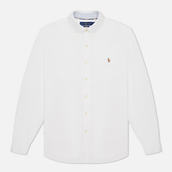 Мужская рубашка Polo Ralph Lauren Button Down Oxford White