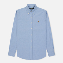 Мужская рубашка Polo Ralph Lauren Classic Fit Oxford Blue фото- 0
