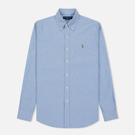 Мужская рубашка Polo Ralph Lauren Classic Fit Oxford Blue
