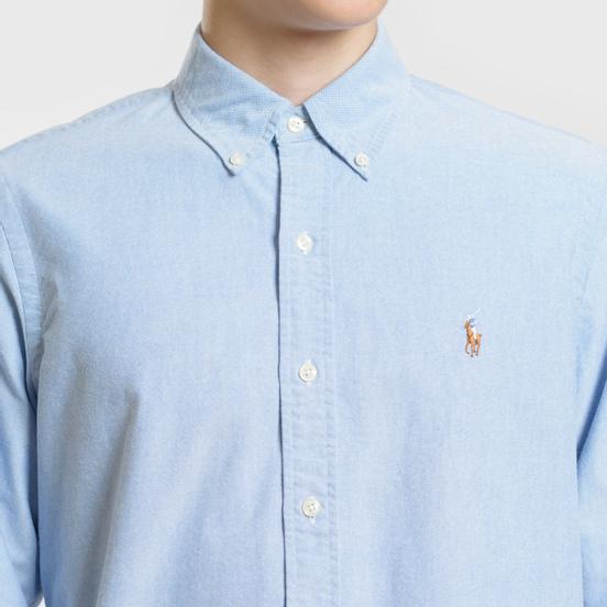 Мужская рубашка Polo Ralph Lauren Classic Fit Oxford Blue