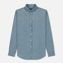 Мужская рубашка Polo Ralph Lauren Classic Fit Oxford Chambray фото- 0