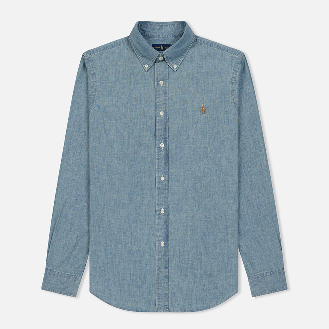 Мужская рубашка Polo Ralph Lauren Classic Fit Oxford Chambray